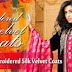 Gul Ahmed Embroidered Silk Velvet Coats 2014-2015 | Gul Ahmed Long Coats 2014 For Winter
