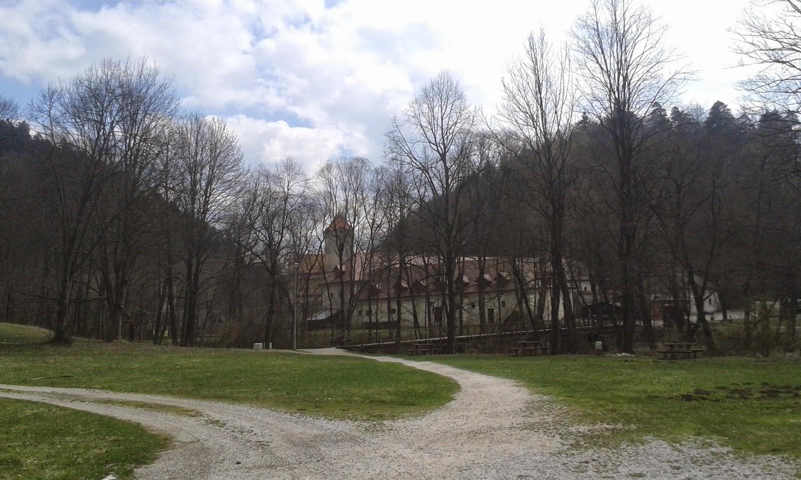widok na Czerwony Klasztor