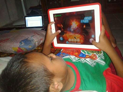kecanduan game pada anak