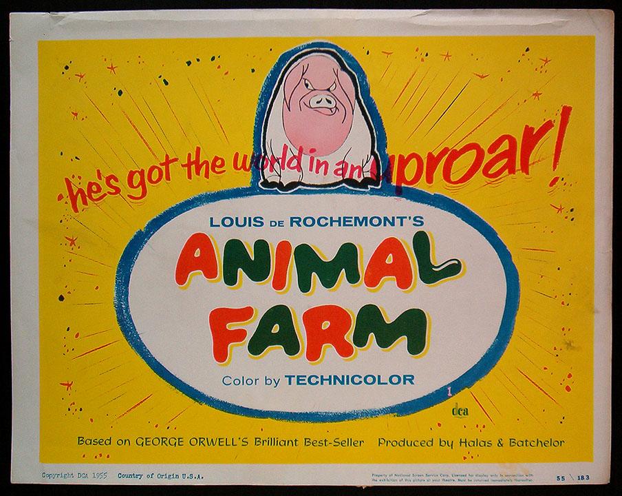 Animal Farm 1954 Poster Animal Farm 1954 Directed