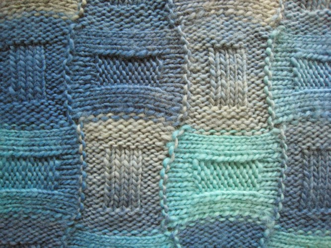 Knot Knecessarily Known Knitting Reversible Entrelac