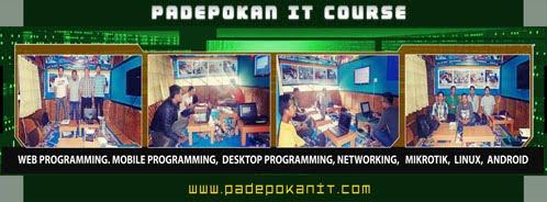 Info Training W.A  : 081214518859     Instagram dan Line : @padepokanit