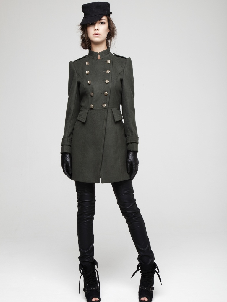 Wedding Bride Military Style Jackets