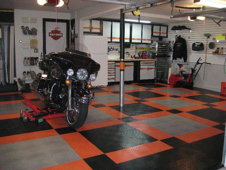 The Harley Garage Makeover