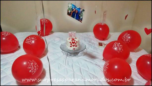 surpresa de aniversário