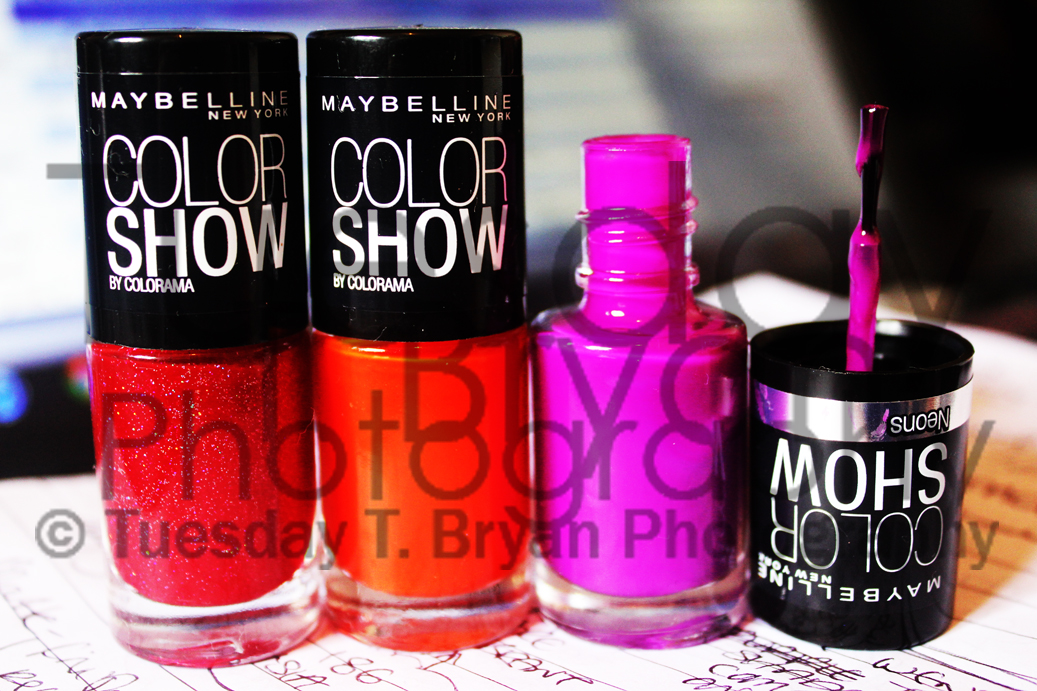Tuesday T. Bryan: Maybelline Color Show Nail Lacquer; shades 265 ...