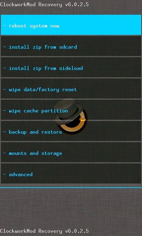 Cara Perbaiki Hp Android Boot Loop cwm