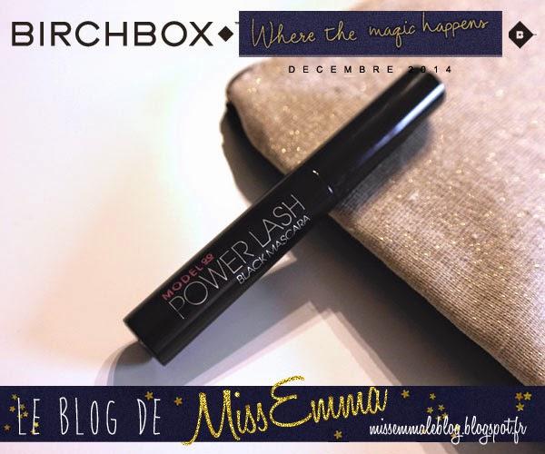 Birchbox - decembre 2014 - Modelco