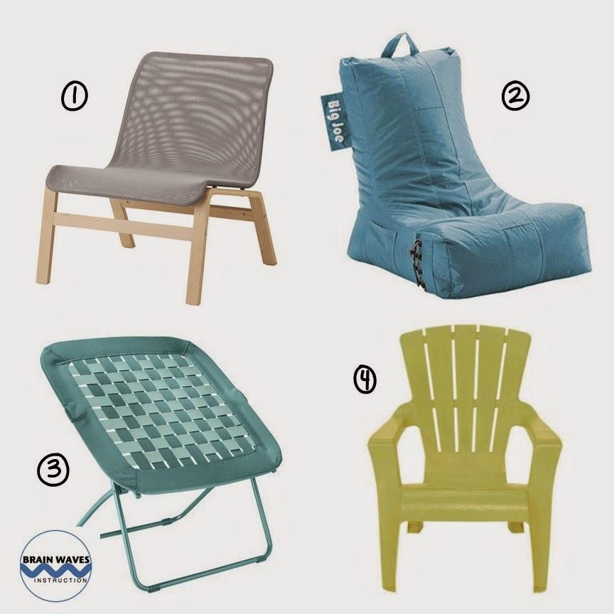Brain waves instruction best homework motivator ever for Ikea adirondack chairs