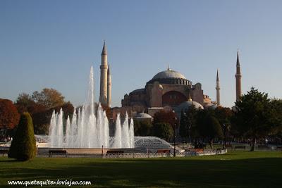 Santa Sofía Estambul - Viaje a Turquia