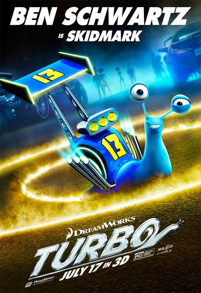 Turbo: Ben Schwartz is Skidmark