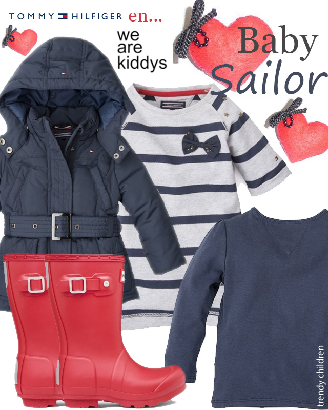 Baby outfit Tommy Hilfiger aw2014 2015 sailor style