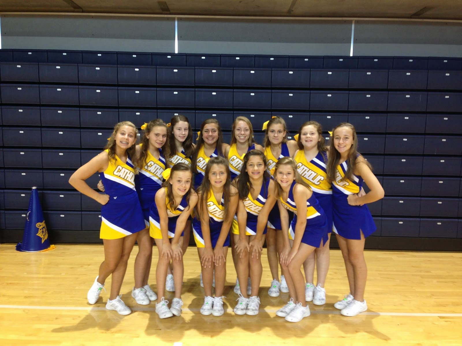 Catholic's JV and Middle School Cheerleaders Attend Camp at Auburn University 2