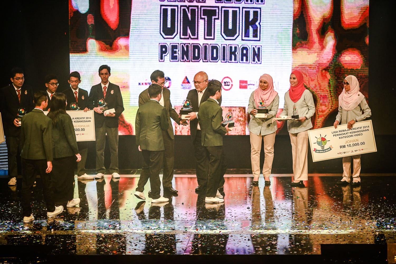 SMK Luar Bandar No.1 Sibu Sarawak Johan Liga Remaja Kreatif 2014