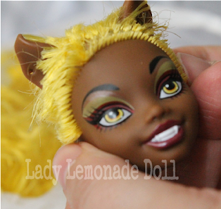 repaint clawdia wolf