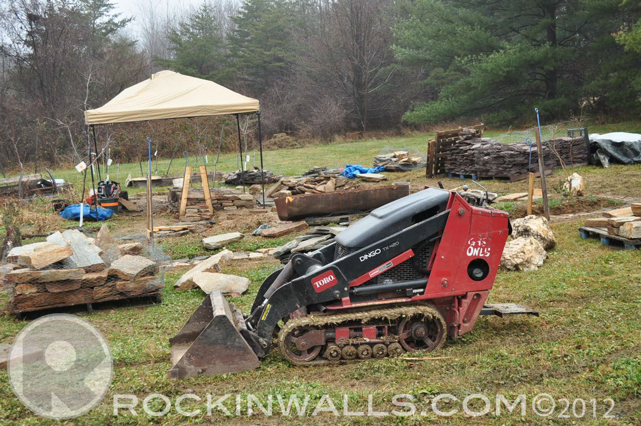 Rockin Walls Equipment Quot Dingo Quot Walk Behind Mini Skid Steer