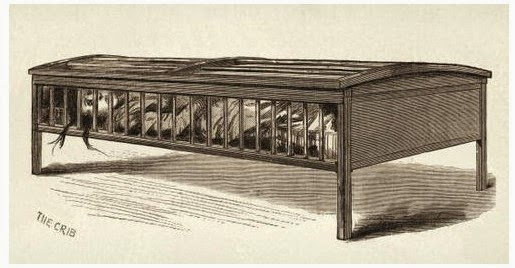 Climbing My Family Tree: The Utica Crib, a restraint device used as a restraint device in Insane Asylums in the 19th Century