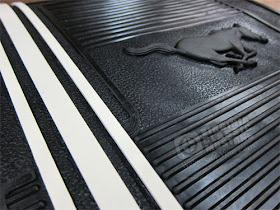 Virginia classic mustang blog mustang rubber floor mat set for 1967 mustang floor mats
