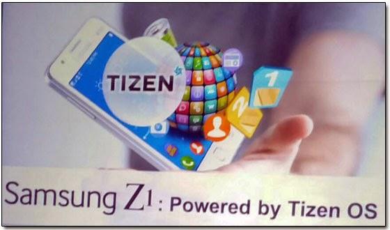 Samsung представил в Индии первый умный телефон под управлением операционной системы Tizen - Samsung Z1