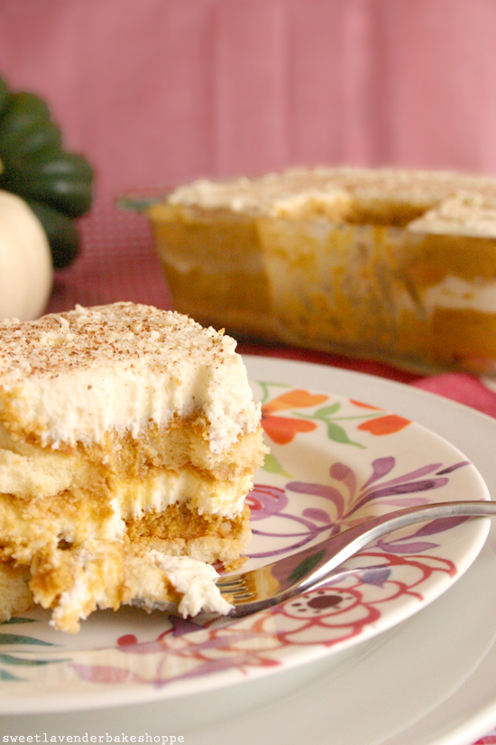 ... Lavender Bake Shoppe: pumpkin tiramisu? yeah, pumpkin tiramisu