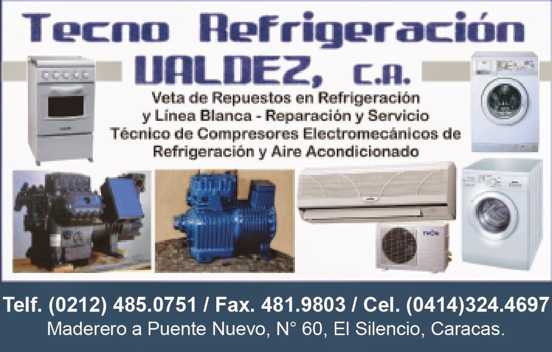 TECNO REFRIGERACION VALDEZ, C.A. en Paginas Amarillas tu guia Comercial