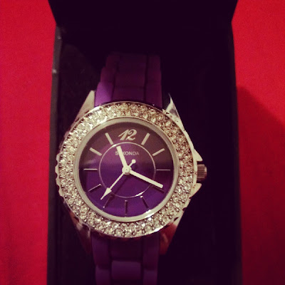 Sekonda Party Watch purple review KatSick