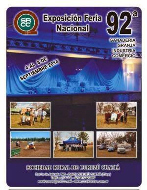 92º Exposición Feria Nacional Curuzú Cuatiá
