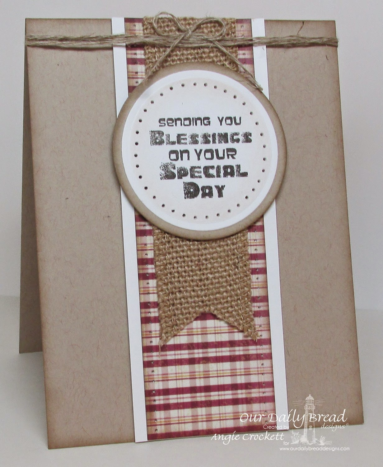 ODBD Special Boy, ODBD Rustic Beauty Designer Paper Collection, Card Designer Angie Crockett