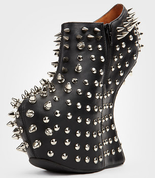 Jeffrey Campbell Shadow Spike and Stud Shoes