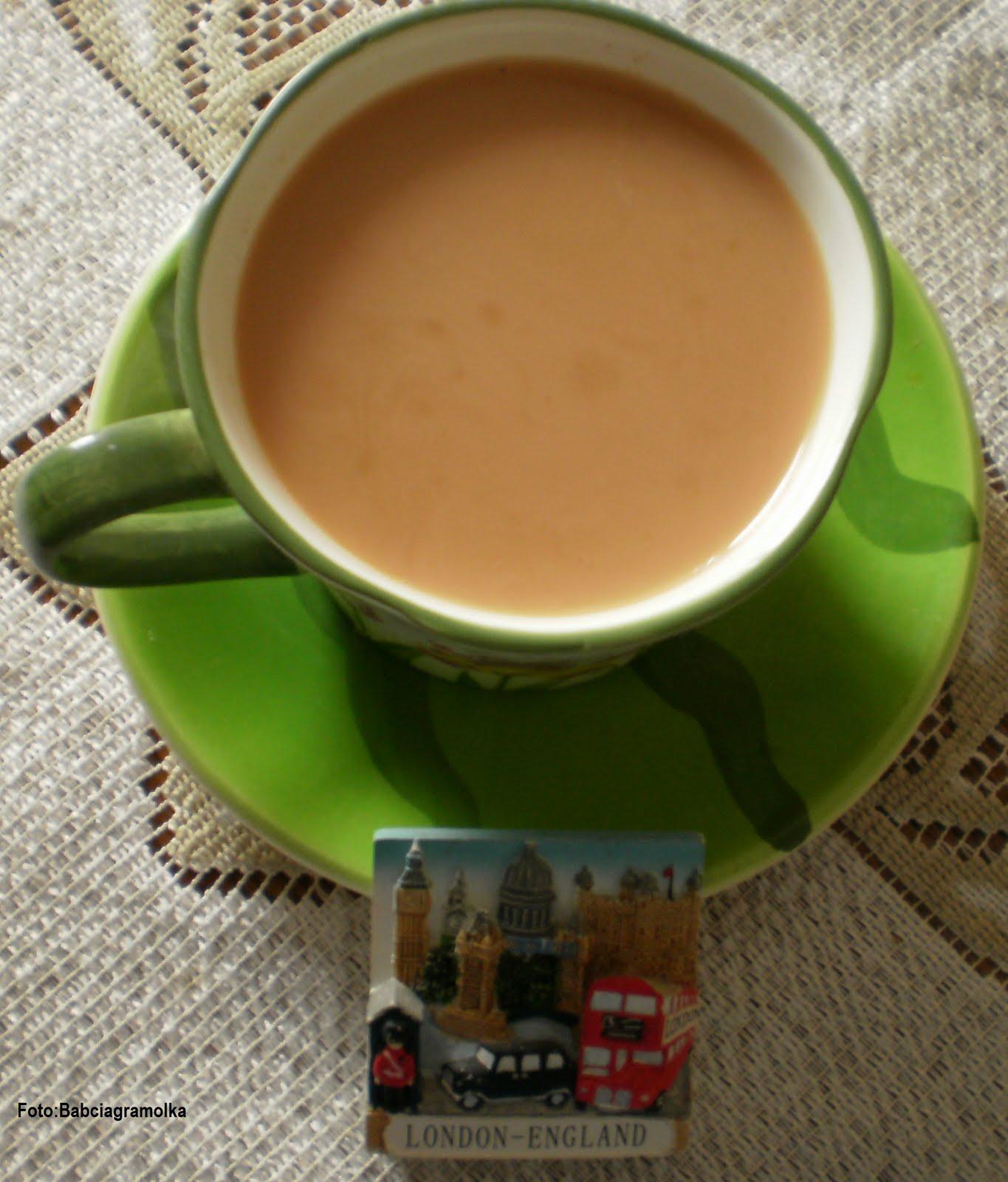 Buniabaje w kuchni Herbata po angielsku wg Buni -> Kuchnia Angielska Herbata Po Angielsku