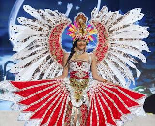 Maria Selena di Miss Universe 2012