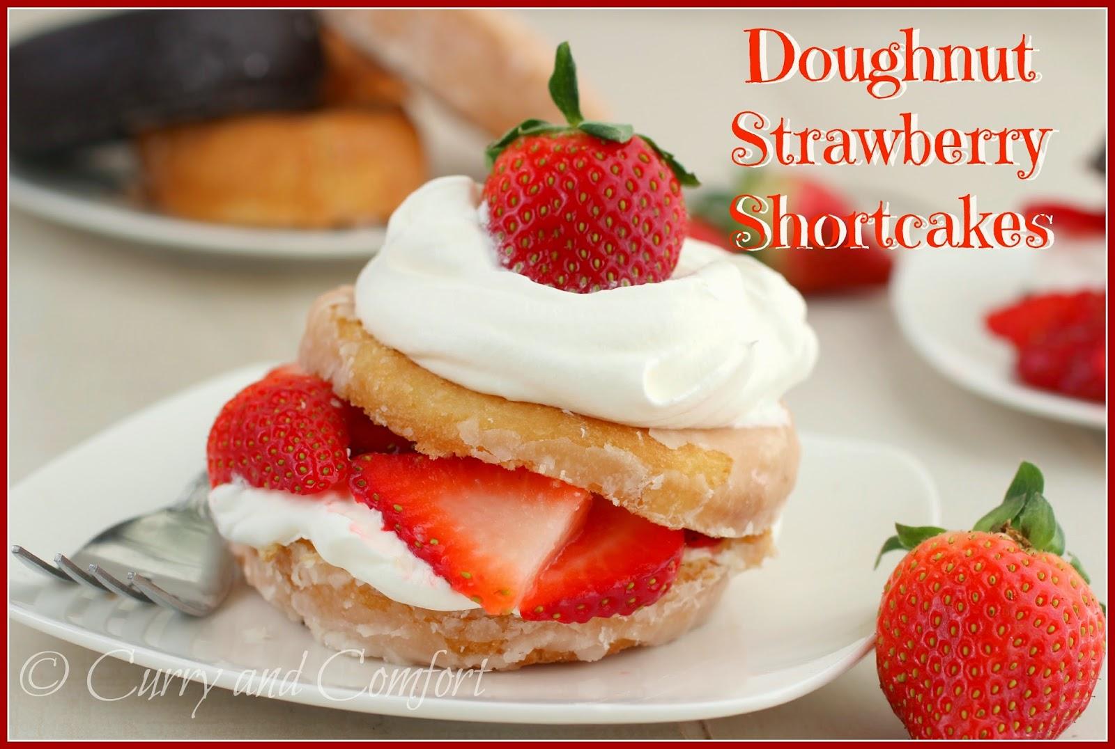 Kitchen Simmer: Doughnut Strawberry Shortcakes