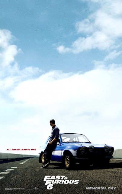 Fast and Furious 6 Poster Paul Walker