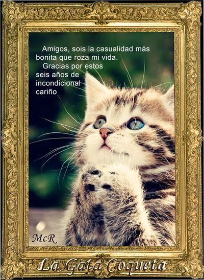 Regalo 6º aniversario de la Gata coqueta,muchas gracias amiga!!!!!!!!
