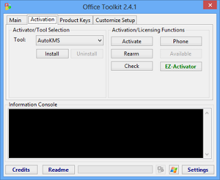 Microsoft Toolkit 2.4.1 Activator