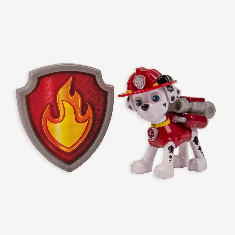 JUGUETES - Paw Patrol : La Patrulla Canina  Marshall | Figura - Muñeco  Toys | Producto Oficial Serie Televisión | Spin Master  A partir de 3 años