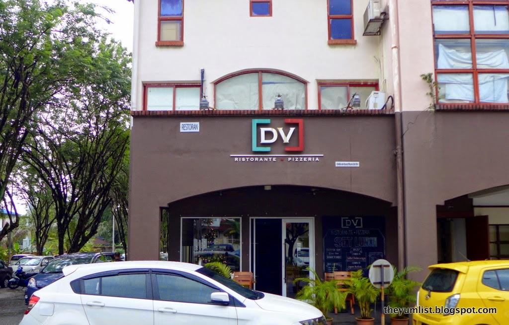DV Ristorante Pizzeria, Bukit Damansara, Italian restaurant, Christmas menu