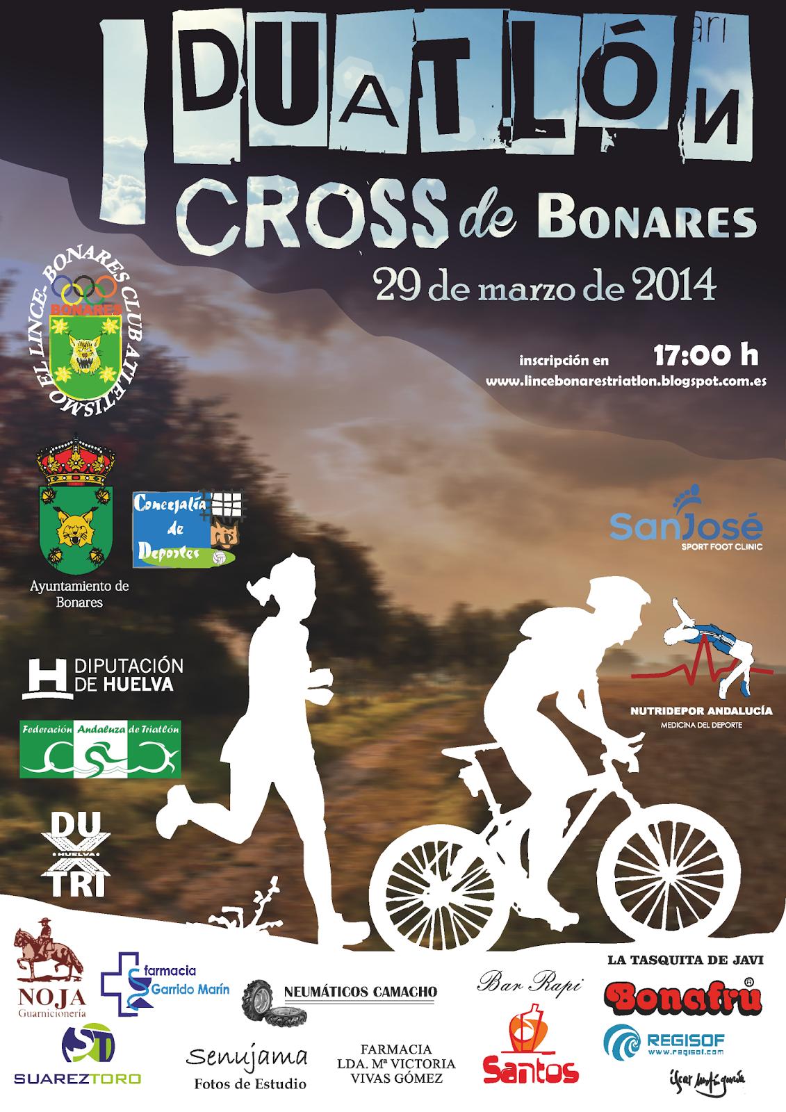 I DUATLÓN CROSS DE BONARES