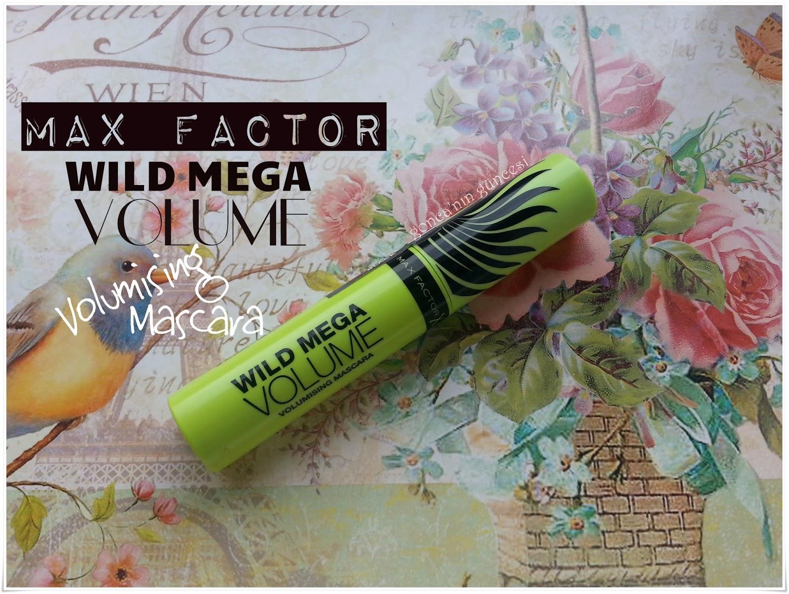 Max Factor  Wild Mega Volumising Maskara