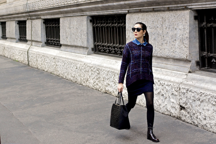 fashion blog milano - preppy casual outfit by irene buffa