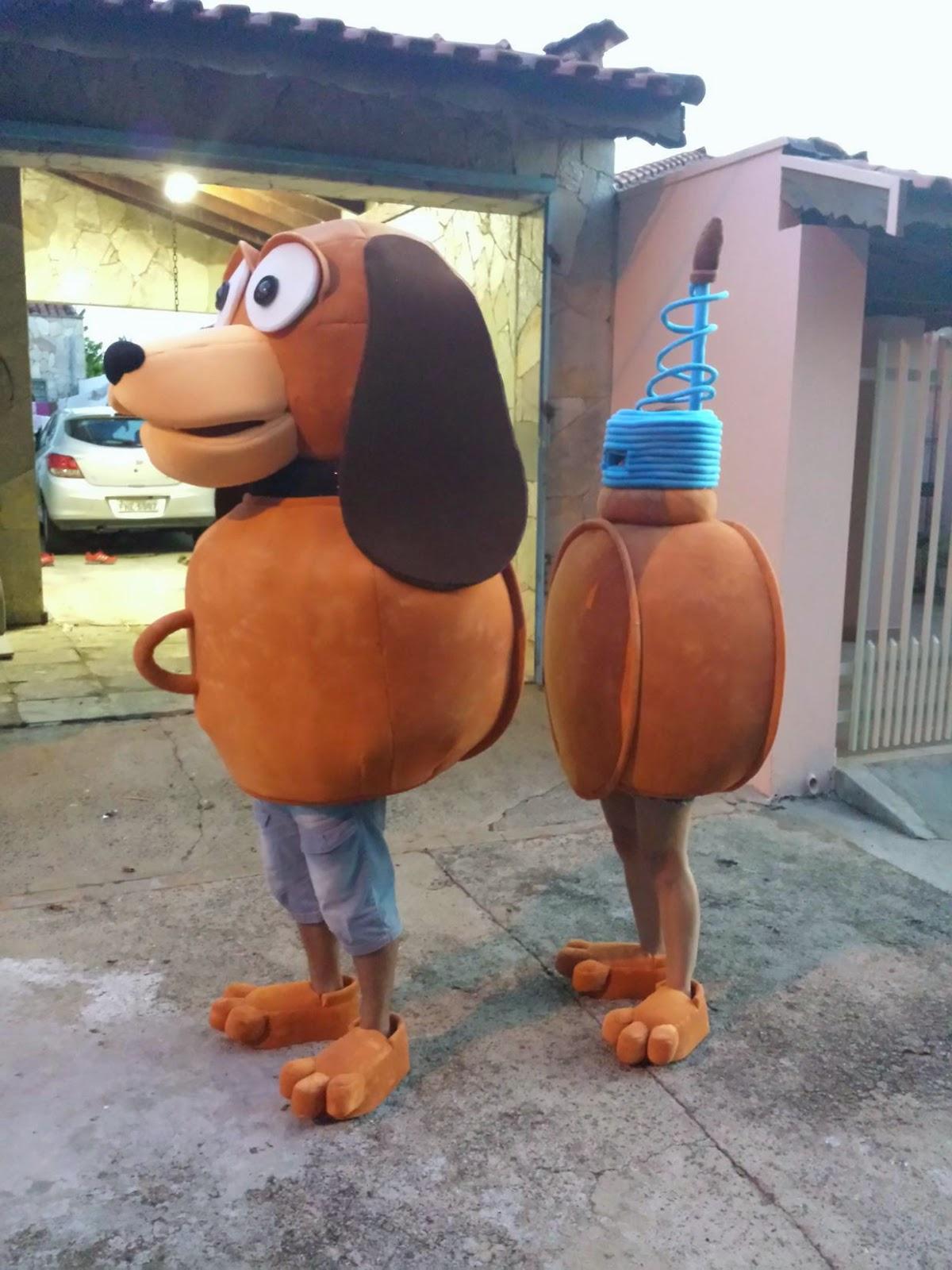 fantasia de slink toy story fantasia de cachorro fantasia de