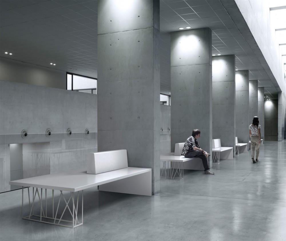 Minimalismo en bibliotecas mobiliario minimalista - Mobiliario minimalista ...