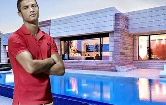 CR7 tayang rumah mewah