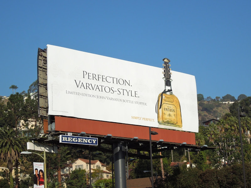 Perfection Varvatos style Patron Tequila billboard