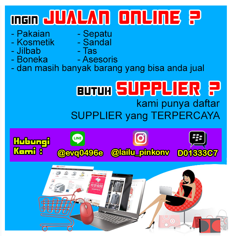 BUTUH SUPPLIER ONLINE SHOP?