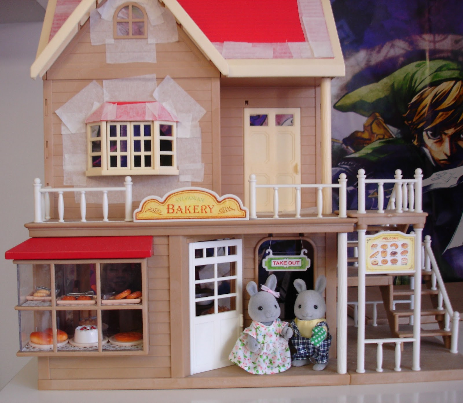 Lilys Sylvanian Families Blog Bakery Orchard Cottage Review