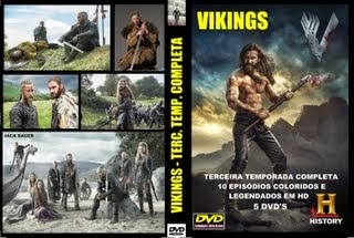 VIKINGS - TERCEIRA TEMPORADA COMPLETA