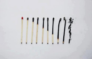 Burn Match Sticks