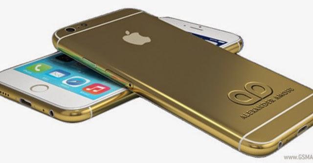 iPhone 6 mạ vàng 82 triệu đồng