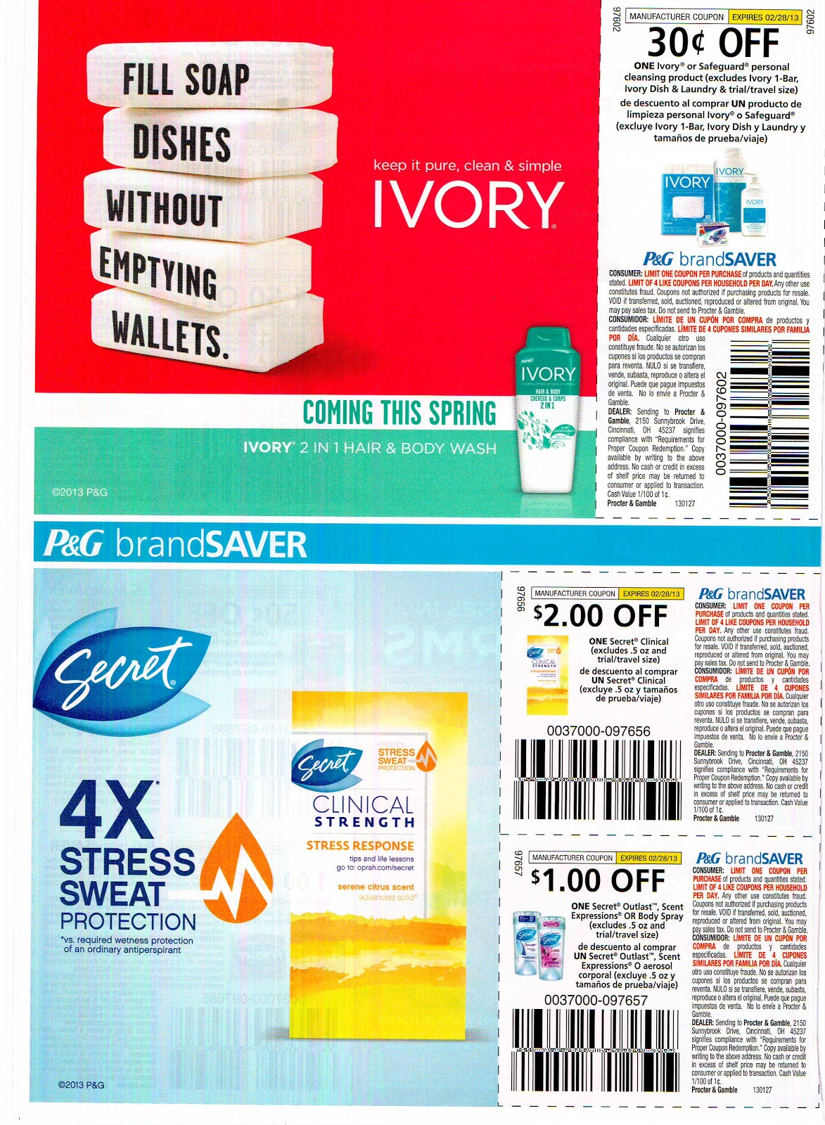 Proctor and gamble digital coupons